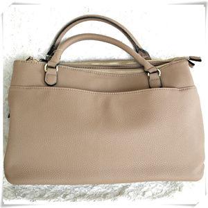 Curtis bag in tan taupe